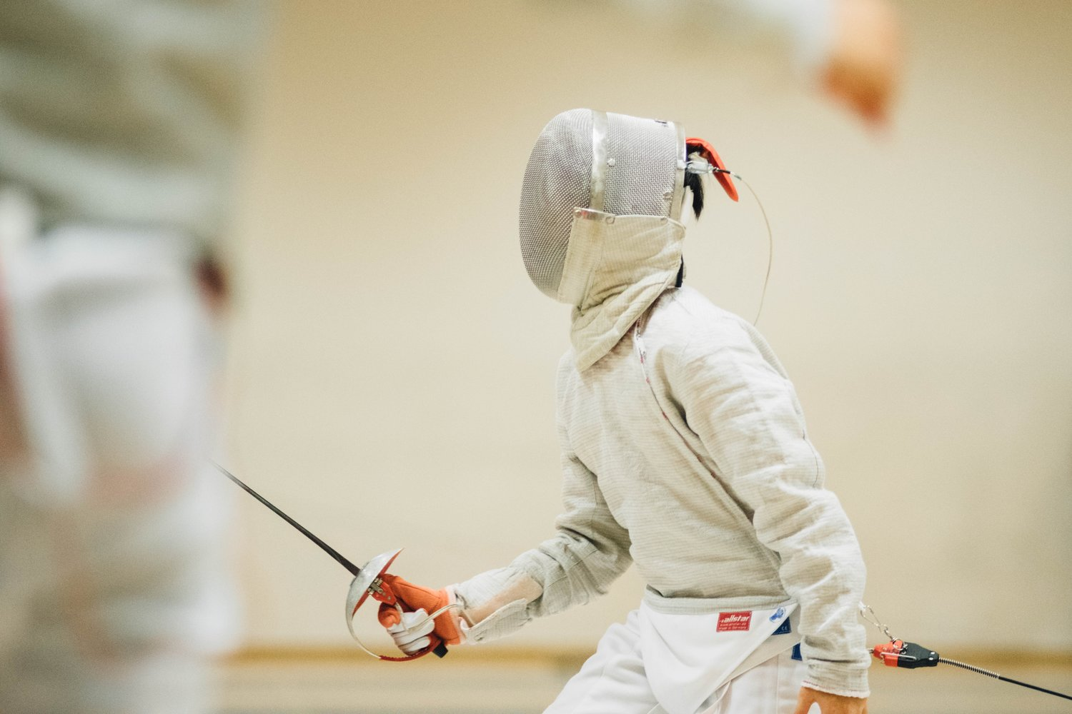 fencing student